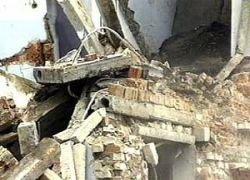 """В Тбилиси обрушилось здание телекомпании \""""Рустави-2\"""""""