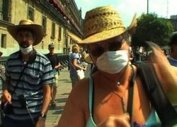 Мексика получит кредит на борьбу со свиным гриппом