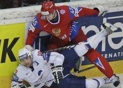 Россия разгромила Францию на чемпионате мира по хоккею