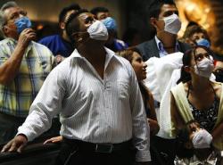Счет жертвам свиного гриппа пошел на сотни