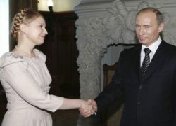 Тимошенко хочет уговорить Путина продать меньше газа