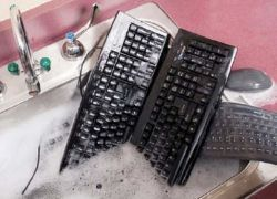 Silver Seal: моющаяся клавиатура