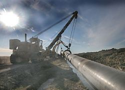 США уменьшают поддержку европейского газопровода
