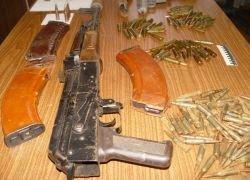 В правительстве Москвы обнаружен тайник с оружием