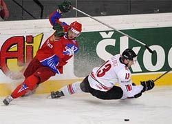 Сборная России по хоккею обыграла швейцарцев