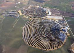 Открыта крупнейшая солнечная электростанция в Европе