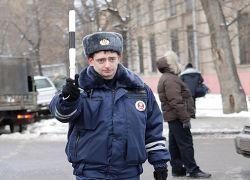 Удар гаишнику между ног стоил водителю 70000 рублей