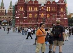 В Россию стало приезжать меньше иностранных туристов