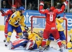 Сборная России по хоккею обыграла шведов на ЧМ