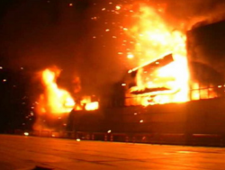 Крупный пожар в Оренбурге: пострадали более 80 человек