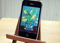 Классик живописи перешел с холста на iPhone