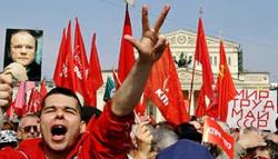 Левые отпраздновали Первомай по революционным канонам