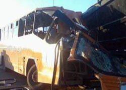 В Подмосковье автобус врезался в фуру: двое погибших