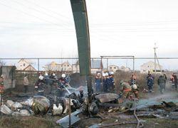В Казани разбился вертолет