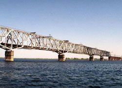 Достроен мост через Волгу в Ульяновске