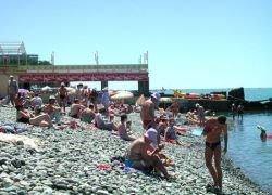 Этим летом Сочи посетят пять миллионов туристов