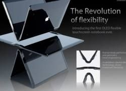 Apple обнародовала дизайн MacBook Touch