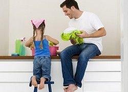 Для семейного счастья нужен мужчина-домохозяйка