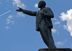 Памятник Ленину осквернен в Калининграде