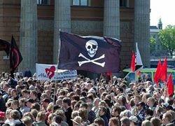 Шведские пираты могут получить места в Европарламенте