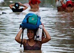 На Филиппины обрушился тайфун