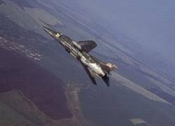 В Индии истребитель МиГ-27 рухнул на строящийся дом