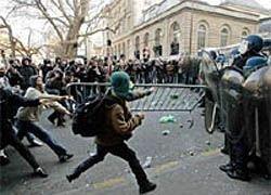 Европейцы протестуют против безработицы и роста цен