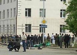Теракт у здания МВД в Грозном: четверо погибших