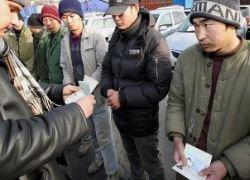Поток гастарбайтеров в Россию сократился из-за кризиса