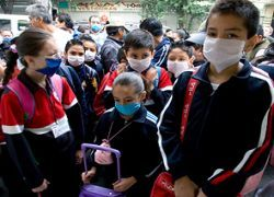 Из-за свиного гриппа в США закрыты школы