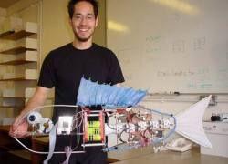 Ученые создали рыбу-робота для изучения подводного мира