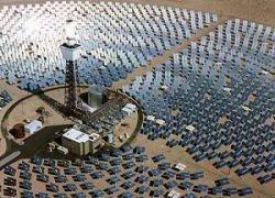 США построят крупнейшую сеть солнечных электростанций