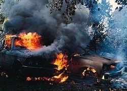 Поджог милицейских машин в Москве - дело экстремистов