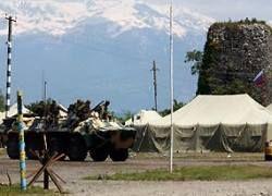 Россия отправит на Кавказ бронетехнику