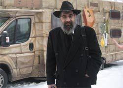 На улицах Москвы появилась передвижная синагога