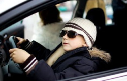 Шестилетний американец сел за руль и спас отца