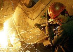 Спад производства в России достиг 17%