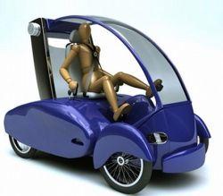 URB21: автомобильчик, работающий на энергии человека