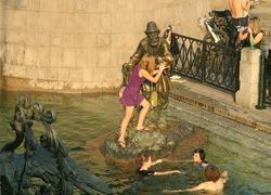 В столице купаться можно только с риском для жизни