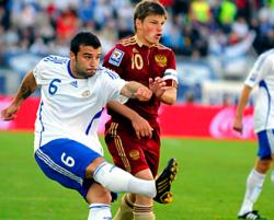 Сборная России по футболу разгромила Финляндию
