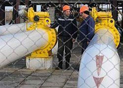 Украина прекратила закачку газа в свои хранилища