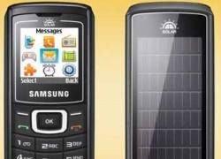 Samsung выпустил мобильник на солнечной батарее