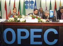 ОПЕК прогнозирует сокращение потребления нефти