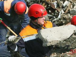 Взрыв разрушил дом в Нижегородской области