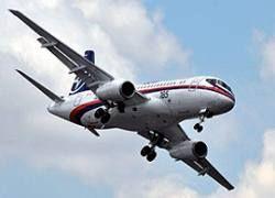 Sukhoi Superjet совершил первый полет в Ле Бурже