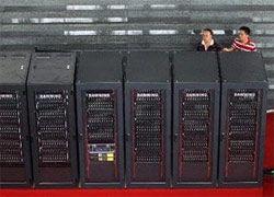 В Китае заработал мощнейший в Азии суперкомпьютер
