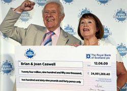 Британский пенсионер выиграл в лотерею 30 млн евро