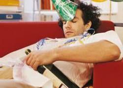 Алкоголь моментально меняет мозг