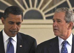 Буш прервал молчание для критики в адрес Обамы