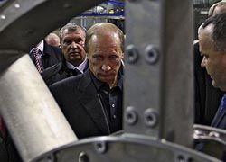 """Путин выделил 5,2 млрд руб. объединению \""""Сатурн\"""""""